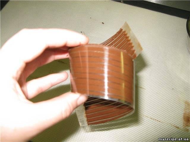 Завитки из шоколада как сделать 700