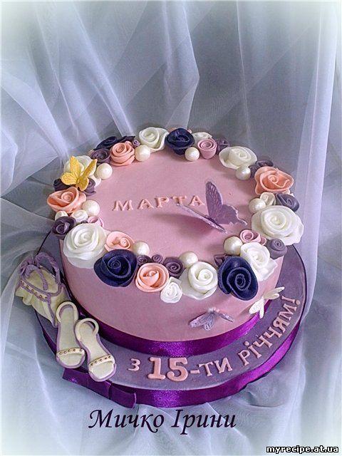27 торт для дівчини 16 16 торт для дівчини